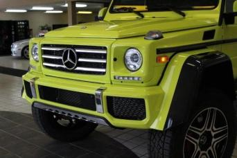 Used 2017 Mercedes-Benz G550 4x4 Squared