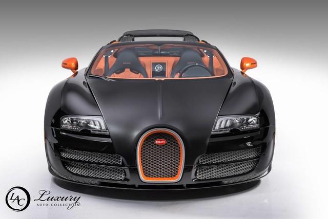Used 2015 Bugatti Veyron Grand Sport Vitesse For Sale Auto Hype