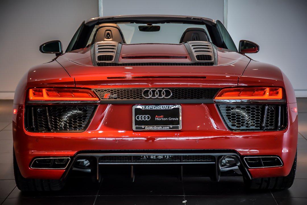 New 2017 Audi R8 5 2 V10 Spyder For Sale Auto Hype