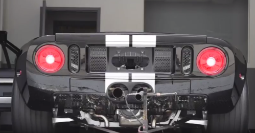 Ford Gt Titanium Twin Turbo System Making Whp On Dyno Video