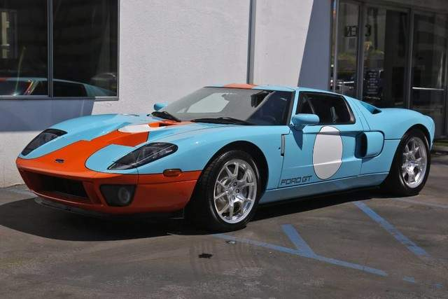 Used 2006 Ford Gt Heritage Edition For Sale Only 27 Miles