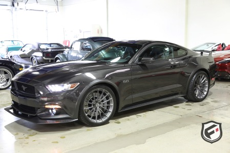 Full Carbon Fiber 2017 Ford Mustang GT Fastback by SpeedKore!