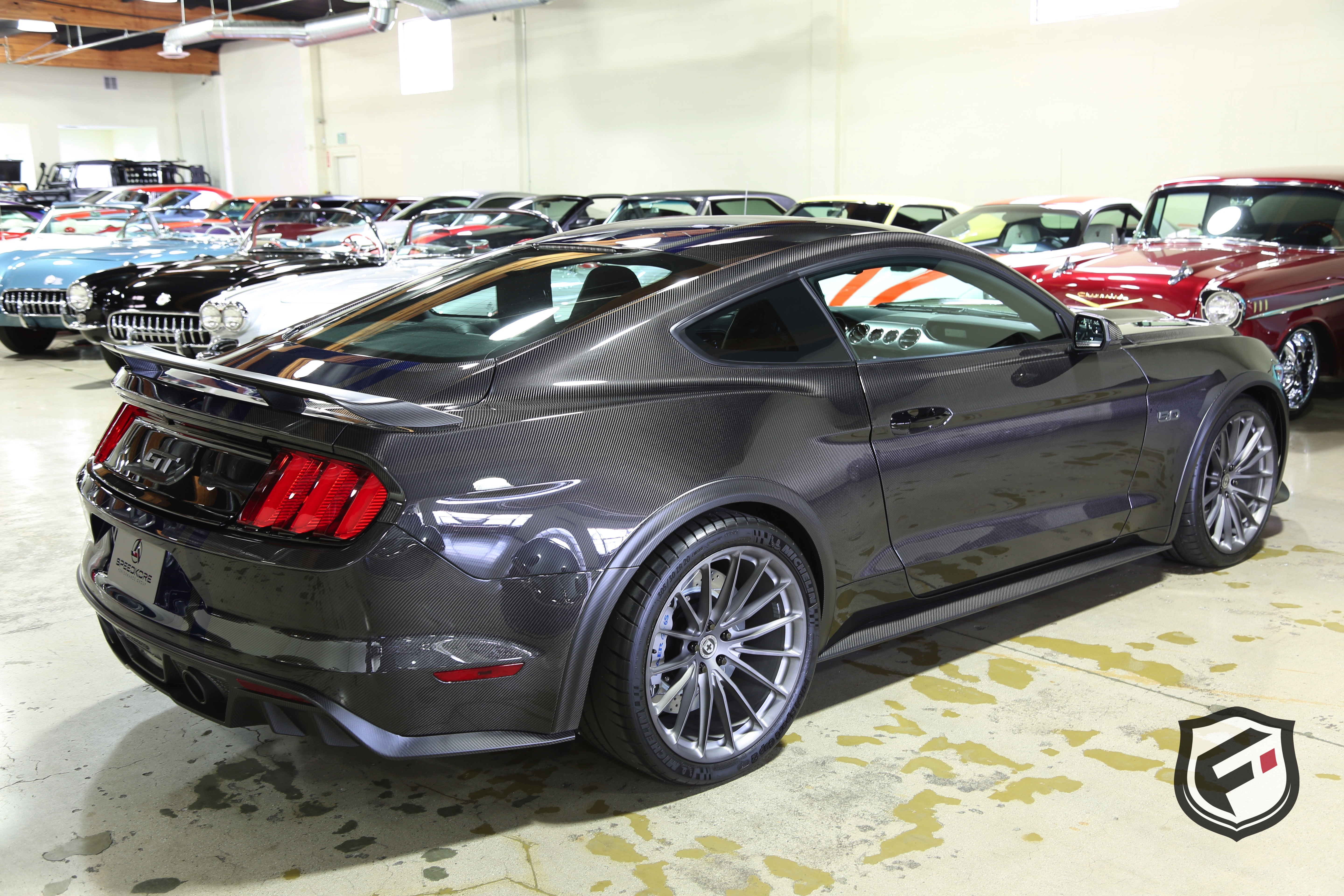Full carbon fiber 2017 ford mustang gt fastback by speedkore