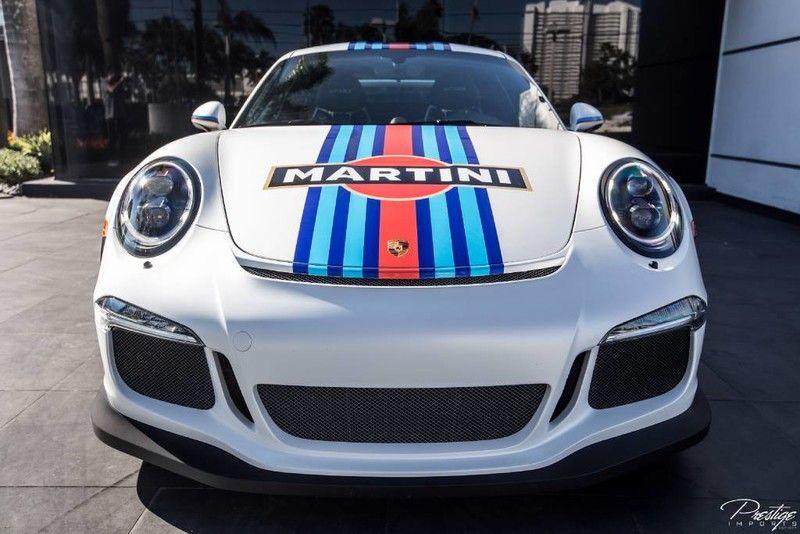 2016 Porsche 911 GT3 RS Martini Edition