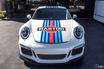 2016 Porsche 911 GT3 RS Martini Edition