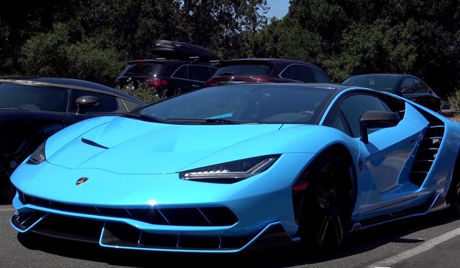 Blu Cepheus Lamborghini Centenario Video Auto Hype