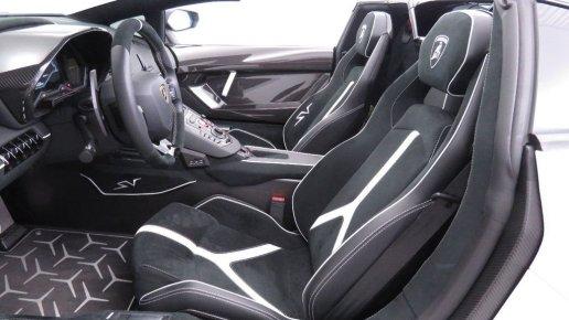 2017 Lamborghini Aventador SV Roadster