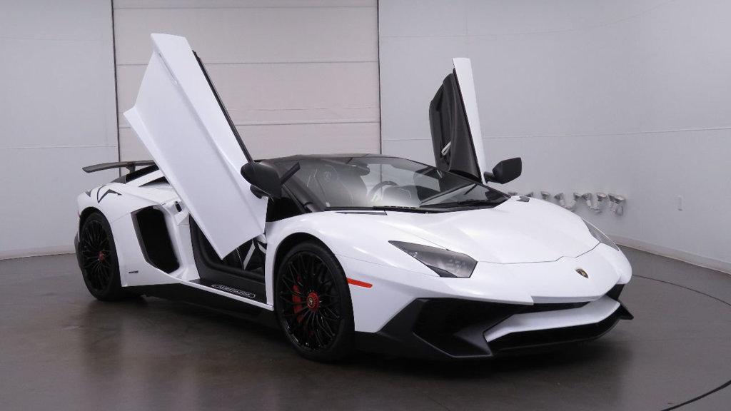 Used 2017 Lamborghini Aventador Sv Roadster For Sale Auto Hype