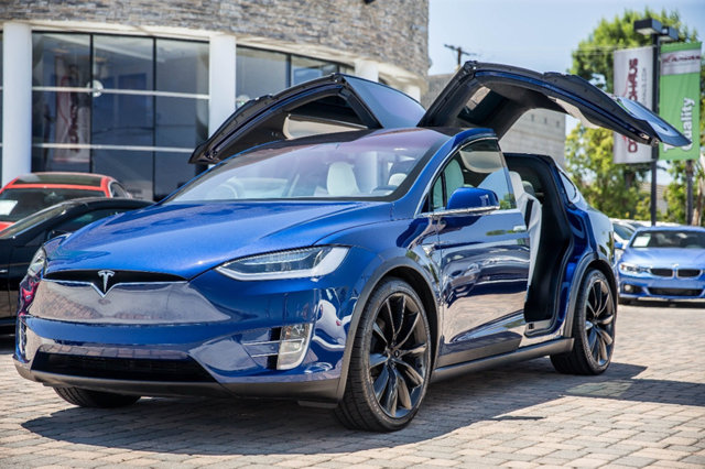 used 2017 tesla model x 100d for sale auto hype. Black Bedroom Furniture Sets. Home Design Ideas