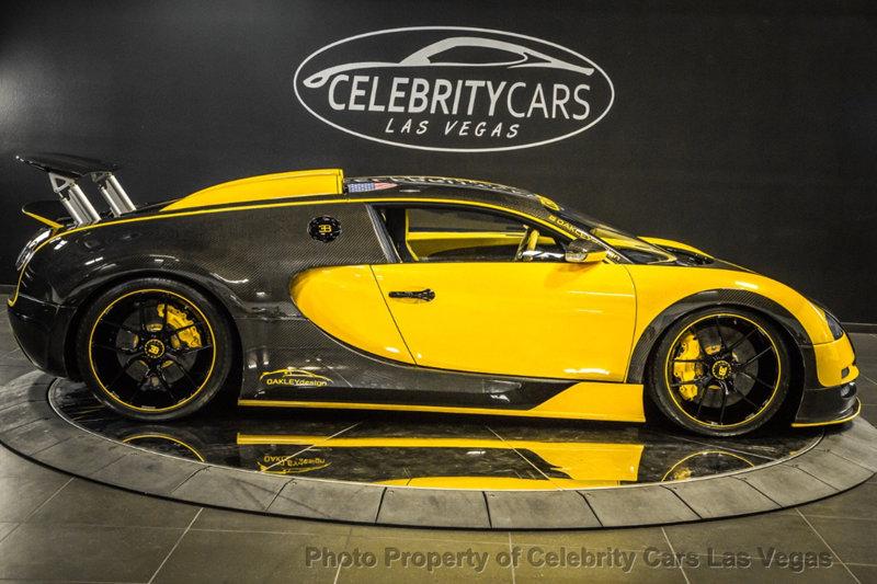 Used 2008 Bugatti Veyron 16 4 Custom Oakley Design For