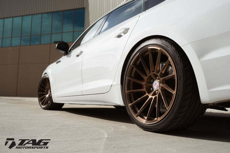 Audi S5 with HRE Wheels