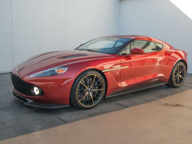 Used 2018 Aston Martin Vanquish Zagato For Sale Rare Auto Hype