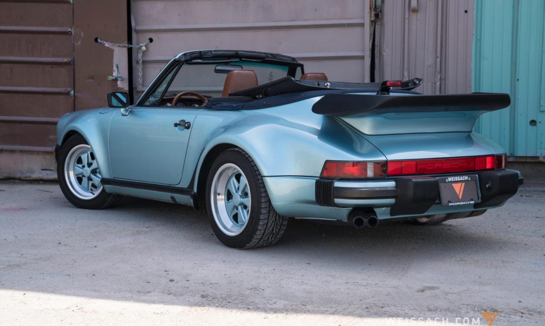 Auto For Sale Canada: Used 1988 Porsche 911 Turbo Cabriolet