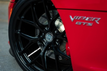 Dodge Viper GTS with HRE Wheels