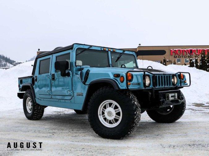 2001 Hummer H1