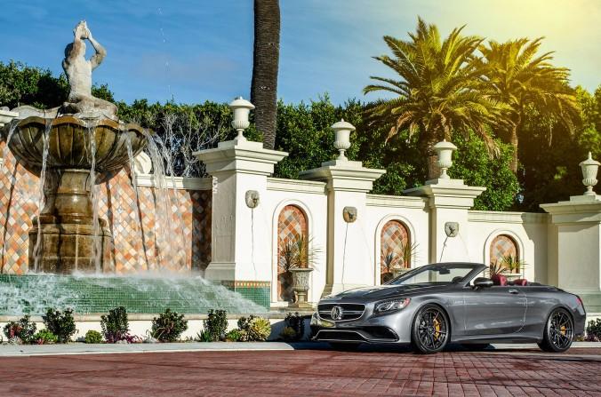 Mercedes Benz S63 AMG Convertible