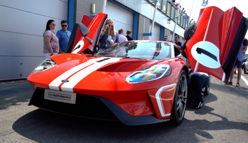 Ford Gt Heritage Edition W Akrapovic Exhaust System Video