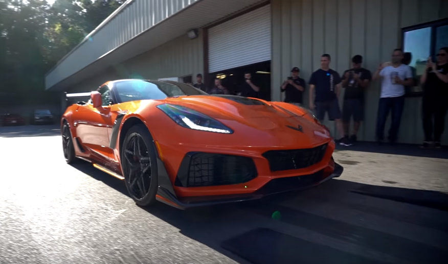 Vengeance Racing R&D C7 ZR1 – Delivery & Base Dyno! (Video