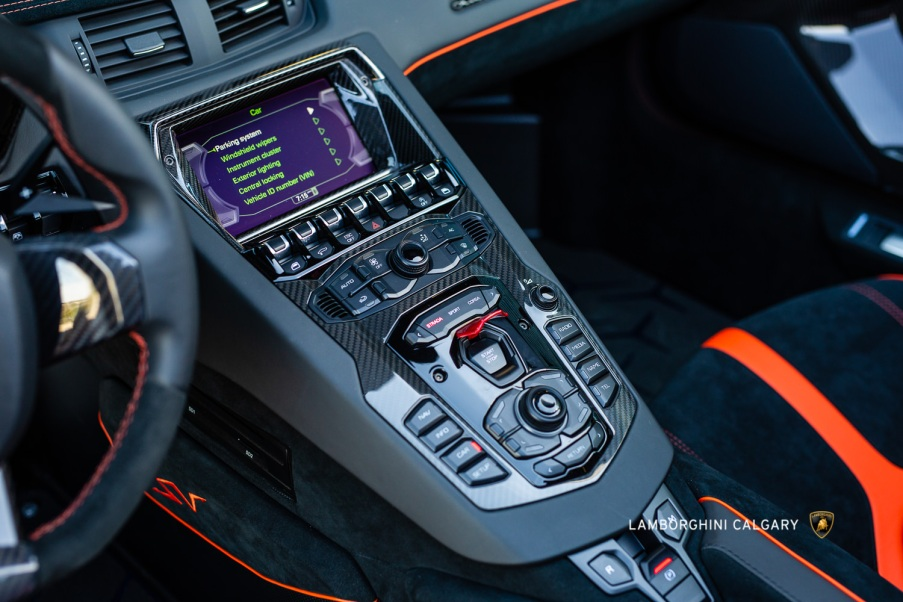 2017 Lamborghini Aventador LP 750-4 SV Roadster