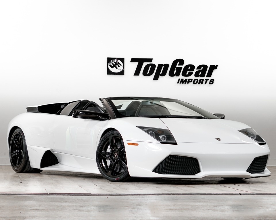 Used 2008 Lamborghini Murcielago Lp640 Convertible For Sale