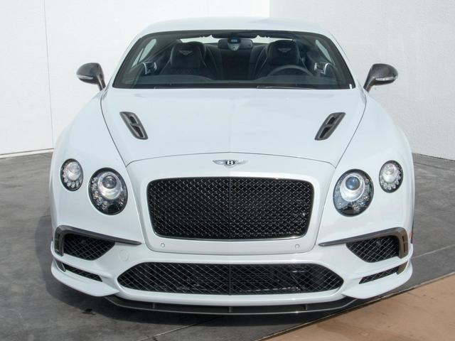 2017 Bentley Continental Supersports GT