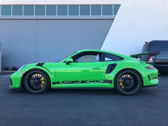 2019 Porsche 911 GT3 RS